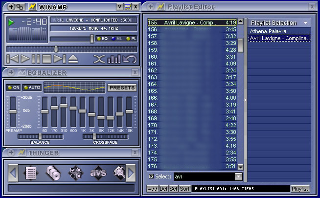 Download skins for Winamp Media Player