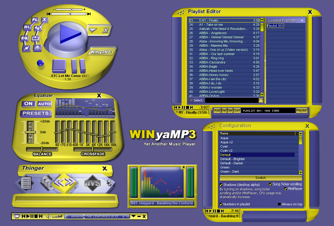 WINyAMP v2 screen shot
