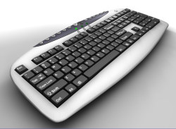 A4TECH Multimedia Keyboard