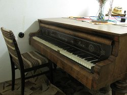 Reference image: the piano