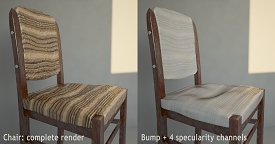 Chair: comparative render