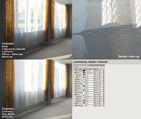 Curtains: comparison renders