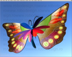 butterfly no. 3a