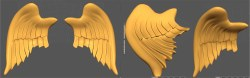 rose-angel wings wip 3