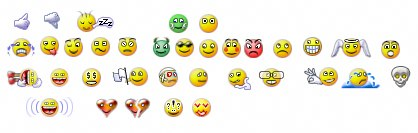 ROBO Design emoticons