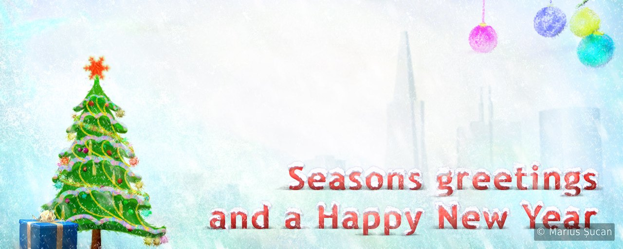 Classic seasons greetings