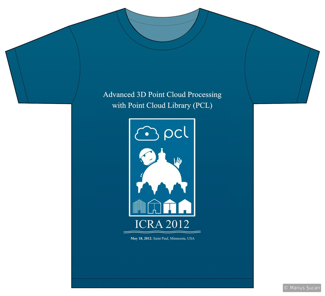 PCL t shirt: ICRA 2012
