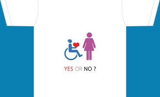 Love proposal from a disabled person