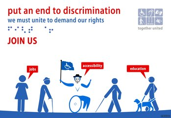 Disabled activists: put an end to discrimination
