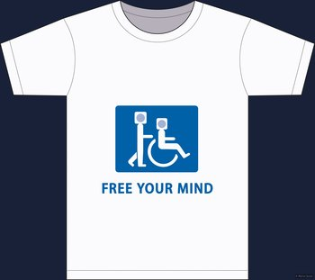 Free your mind - t-shirt