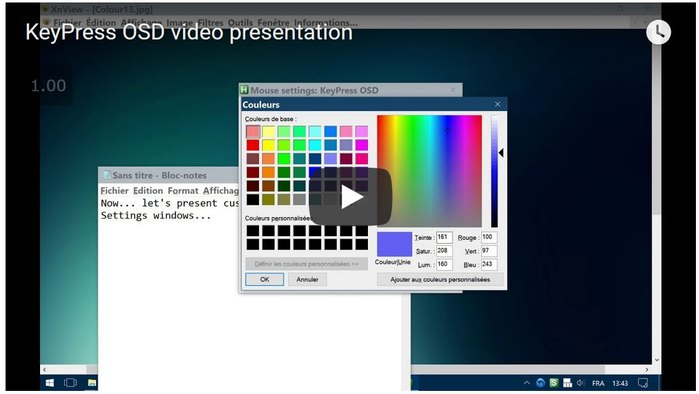 KeyPress OSD video presentation (on Youtube)