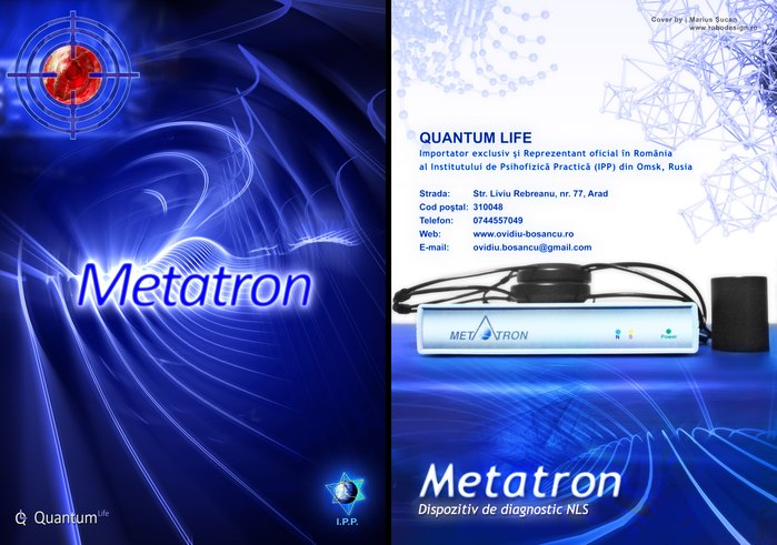 Metatron - catalog cover