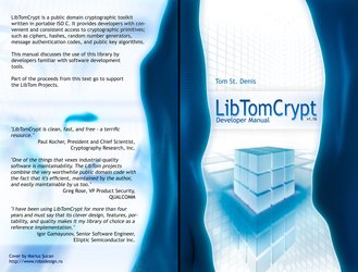 LibTomCrypt - Developer manual