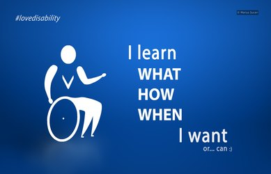 Love disability: learning