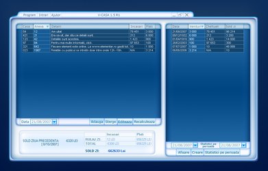 V-Casa - software interface